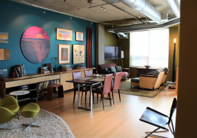 Studio1 Bedroom/1 Bathroom loft located in the heart of Downtown Denver! Features stainless steel appliances, slab granite countertops, west facing balcony, breakfast bar, walk-in closet, 24-hour lobby attendant, and private underground parking.Amenities include: business center, private onsite fitness center, and large promonade.Waterside overlooks The Pepsi Center, Cherry Creek and the Rocky Mountains. The lofts are just steps away from the Cherry Creek walking and biking trail and easy walking distance to shops, restaurants, the Denver Aquarium and the Denver Performing Arts Complex.